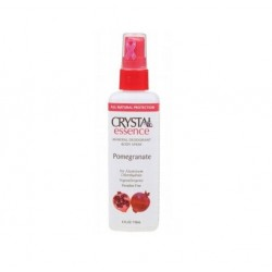 CRYSTAL ESSENCE POMEGRANATE MINERAL DEODORANT SPRAY 118ML