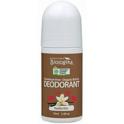 BIOLOGIKA VANILLA KISS DEODORANT ROLL ON 70ML
