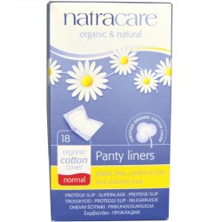 NATRACARE PANTY LINERS NORMAL 18 PACK