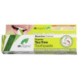 DR.ORGANIC ANTIBACTERIAL ORGANIC TEA TREE TOOTHPASTE 100ML
