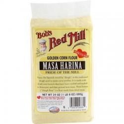 BOBS RED MILL MASA HARINA GOLDEN CORN FLOUR 680G
