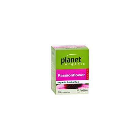 PLANET ORGANIC PASSIONFLOWER 25 BAGS