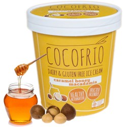 COCOFRIO CARAMEL HONEY MACADAMIA 500ML