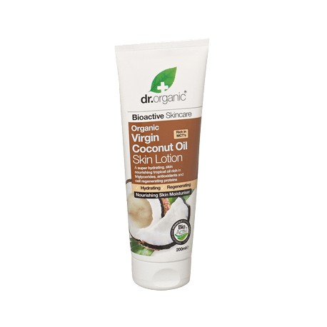 DR ORGANIC VIRGIN COCONUT OIL SKIN LOTION 200ML