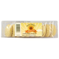 BUSY BEES BAKED GOODS CANADIAN MAPLE SHORTBREAD 170G