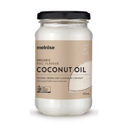 MELROSE ORGANIC FULL FLAVOUR COCONUT OIL 325ML