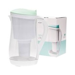 ECOBUD GENTOO LITE FILTER JUG AQUA AND WHITE 1.5L