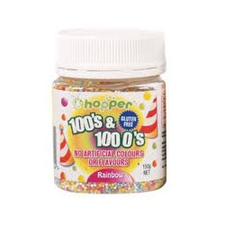 HOPPER SPRINKLE RAINBOW 125G