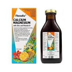 FLORADIX CALCIUM MAGNESIUM WITH ZINC AND VITAMIN D 500ML