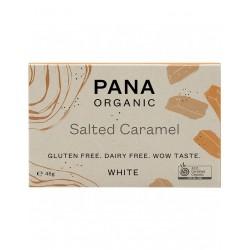 PANA ORGANIC WHITE SALTED CARAMEL 45G