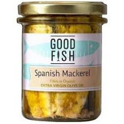GOOD FISH MACKERAL IN OLIVE OIL 195G