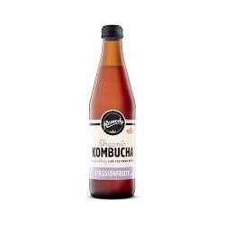 REMEDY ORGANIC KOMBUCHA PASSIONFRUIT 330ML