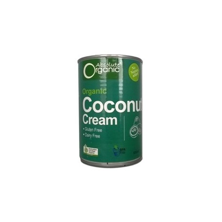 ABSOLUTE ORGANIC COCONUT CREAM 6 X 400G