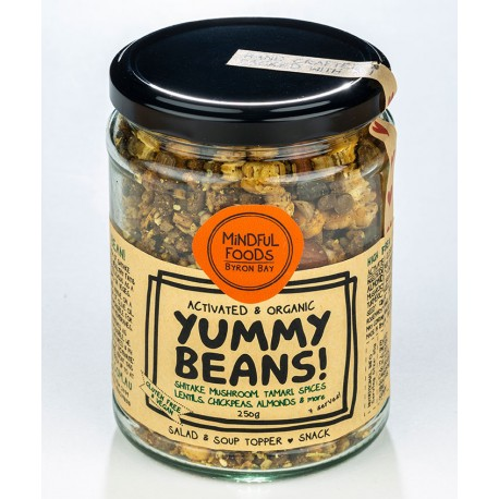MINDFUL FOODS ACTIVATED YUMMY BEANS 250G