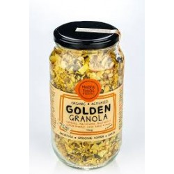 MINDFUL FOODS ACTIVATED ORGANIC GOLDEN GRANOLA 450G