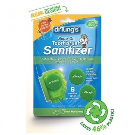 DR TUNG'S SNAP-ON TOOTHBRUSH SANITIZER 2PK