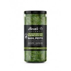 ROZAS BASIL PESTO WITH TOASTED HEMP SEEDS 240G