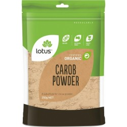 LOTUS CERTIFIED ORGANIC CAROB POWDER 250G