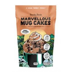 BOTANIKA BLENDS MARVELLOUS MUG CAKES DOUBLE CHOC FUDGE 100G