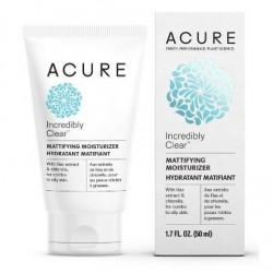 ACURE INCREDIBLY CLEAR MATTIFYING MOISTURIZER 50ML