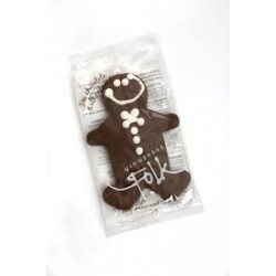 GINGERBREAD FOLK CHOCOLATE GLUTEN FREE GINGER BREAD MAN 30G