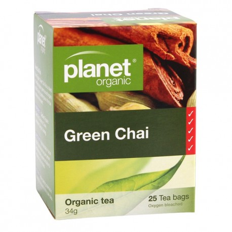 PLANET GREEN CHAI 25BAGS