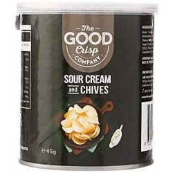 THE GOOD CRISP COMPANY SOUR CREAM & CHIVES 45G