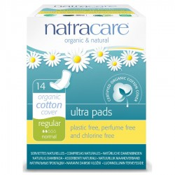 NATRACARE ULTRA PADS REGULAR 14PK