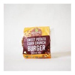 BITE ME SWEET POTATO CORN CRUNCH BURGER 250G