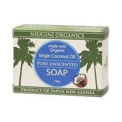 NIUGINI PURE UNSCENTED SOAP 100G