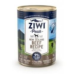 ZIWI PEAK NEW ZEALAND BEEF RECIPE DOG FOOD TIN 390G