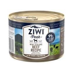 ZIWI PEAK WET BEEF DOG FOOD CAN 170G