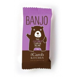 THE CAROB KITCHEN BANJO THE COCONUT CAROB BEAR 15G