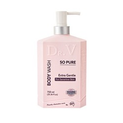 DR V SO PURE EXTRA GENTLE BODY WASH 750ML