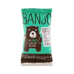 THE CAROB KITCHEN MINT BANJO BEAR 8PK