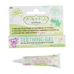 JACK AND JILL TEETHING GEL NATURAL RELIEF FROM TEETHING 15G