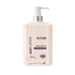 DR V SO PURE BODY LOTION FOR SENSITIVE SKIN 750ML