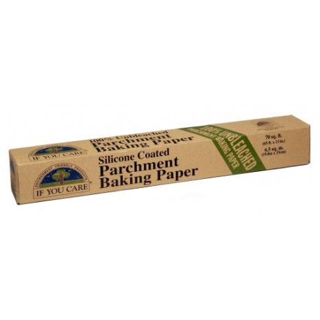 IF YOU CARE SILICONE COATED PARCHMENT BAKING PAPER 19M