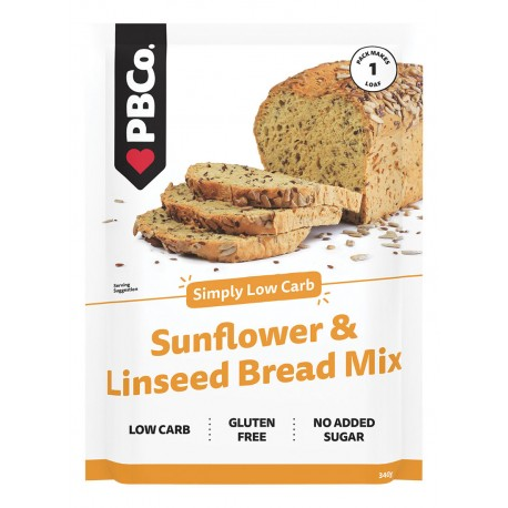 PBCO SUNFLOWER AND LINSEED BREAD MIX 340G