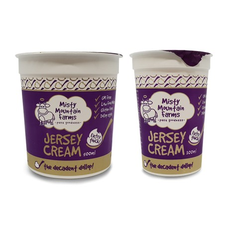 MISTY MOUNTAIN FARMS JERSEY CREAM EXTRA THICK500ML