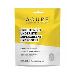 ACURE BRIGHTENING UNDER EYE SUPERGREENS HYDROGELS 7ML