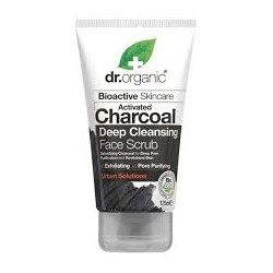 DR ORGANIC CHARCOAL DEEP CLEANSING FACE SCRUB 125ML