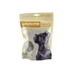 PAWSOME HEMP ROSEMARY DOG TREATS 200G