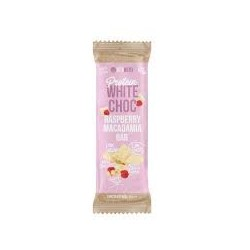 VITAWERX WHITE CHOCOLATE RASPBERRY MACADAMIA BAR 35G