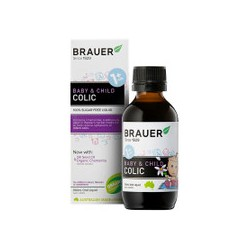 BRAUER BABY AND CHILD COLIC LIQUID 1 PLUS MONTHS 100ML