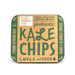 KALE CHIPS DILL AND ONION 45G