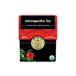 BUDDHA TEAS ASHWAGANDHA TEA 18 BAGS 36G