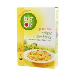BIG OZ CRISPY MILLET FLAKES 350G