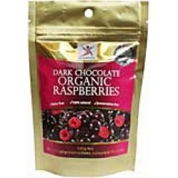 DR SUPERFOODS DARK CHOCOLATE RASPBERRIES 125G