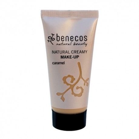 BENECOS NATURAL CREAMT MAKE-UP CARAMEL 30ML